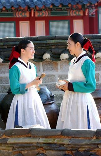 《大长今》几乎展现了全部的韩国美食
