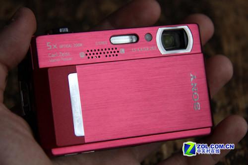 高清摄像触摸大屏 索尼卡片机T500上市