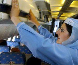 航空公司的阿拉伯空姐