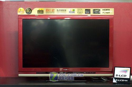 """时尚边框 索尼46""""液晶电视逼近9000元"""