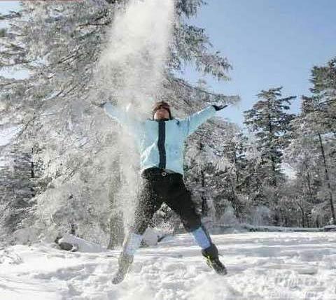 吉林北大湖滑雪场