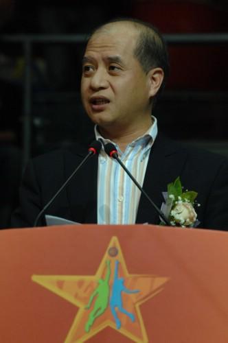 肯德基品牌总经理朱宗毅讲话