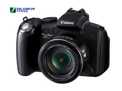 20倍光变 佳能发布SX1 IS高清摄像DC