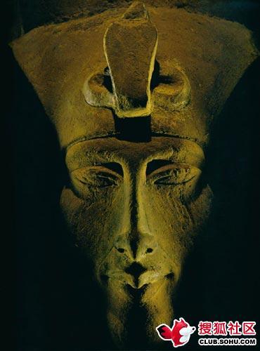 奇异身形 古埃及法老本是外星人后裔图片
