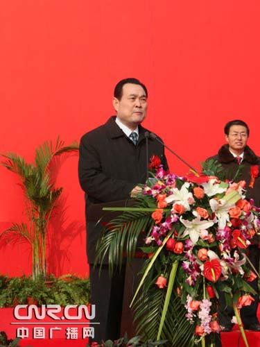 陕西省交通厅厅长曹森介绍西安至商州高速公路建设项目