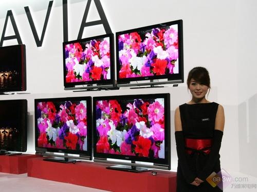 BRAVIA推四倍速驱动 索尼2008新品发布