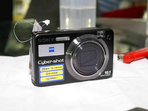 5X光变28mm广角卡片 索尼W170送2G记忆棒