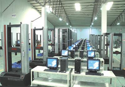 MTS(中国)材料试验机生产线