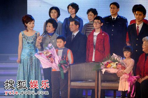 """图:2008金话筒奖 """"四世同堂"""""""