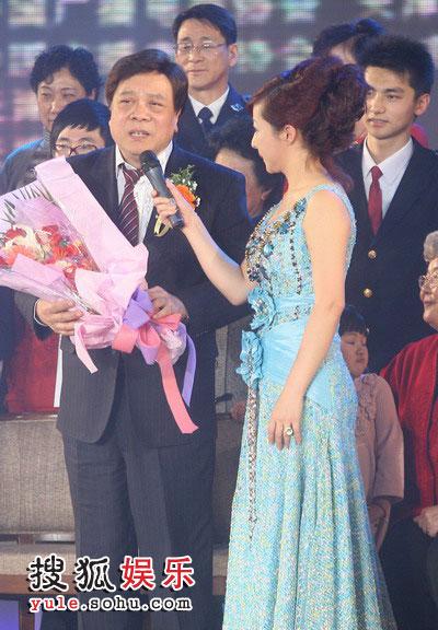 图:2008金话筒奖 赵忠祥