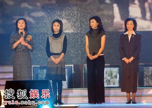 图:2008金话筒奖 张泉灵等记者说四川地震