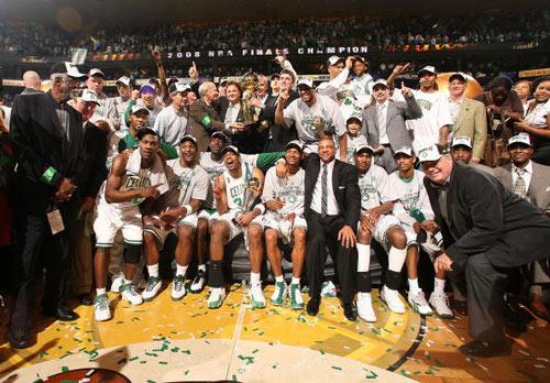 凯尔特人称王NBA