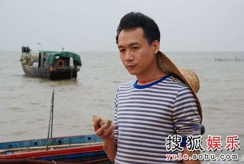 高虎在广州赶拍《我的30年》