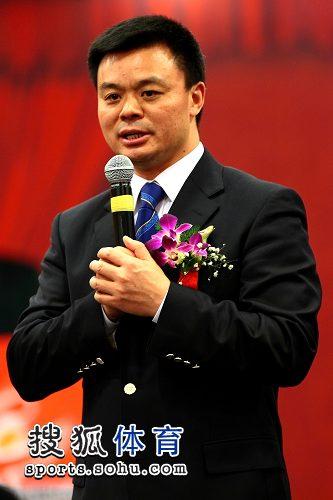 图文:中国乒协与中视体育强强联手 江和平出席
