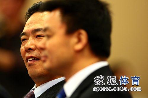 图文:中国乒协与中视体育强强联手 蔡振华出席