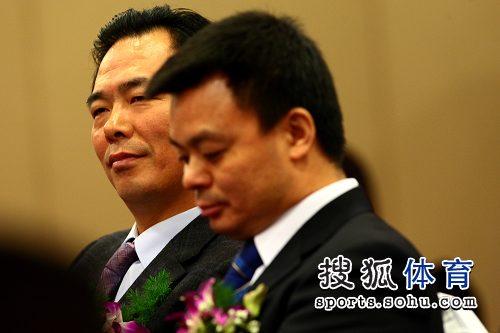 图文:中国乒协与中视体育联手 蔡振华江和平
