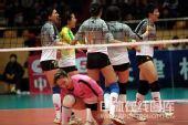 图文:天津女排1-3负上海 悲喜两重天