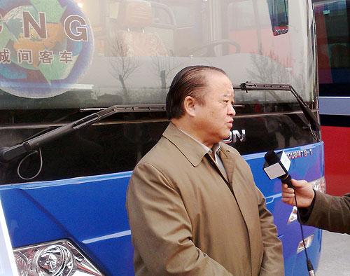 中国机械工业联合会执行副会长、中国汽车工程学会理事长张小虞