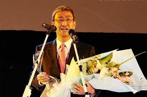 东风日产总经理大谷俊明致辞