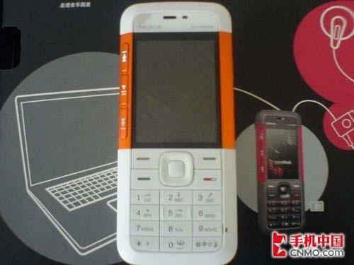 超薄音乐手机 橙色诺基亚5310港行促销