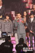 2008劲歌金曲颁奖礼现场 群星上台谈获奖感受