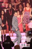2008劲歌金曲颁奖礼现场 群星上台走服装秀