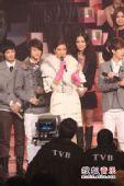 2008劲歌金曲颁奖礼现场 狄易达获奖喜不自禁