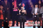 2008劲歌金曲颁奖礼现场 G.E.M现场感言