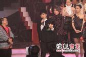 2008劲歌金曲颁奖礼现场 全场聆听古巨基感言