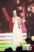 2008劲歌金曲颁奖礼现场 谢安琪倾心演唱