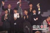 2008劲歌金曲颁奖礼现场 群星合影贺新春