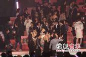 2008劲歌金曲颁奖礼现场 群星合影颁奖结束