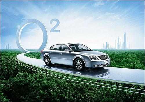别克LaCROSSE君越Eco-Hybrid油电混合动力车