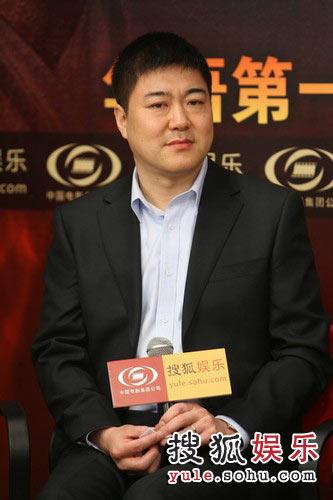 图:中影集团营销分公司总经理蒋德福做客