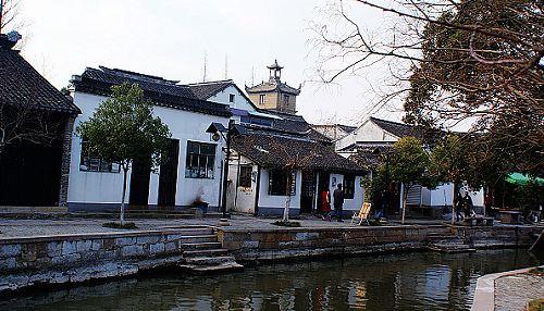 上海古镇朱家角 感受淳朴民风(图)