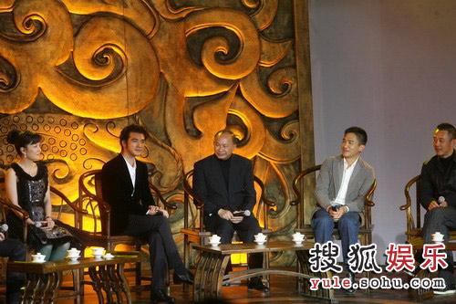 图:《赤壁(下)》首映礼 主创人员上台