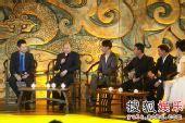 图:《赤壁(下)》首映礼 吴宇森接受采访
