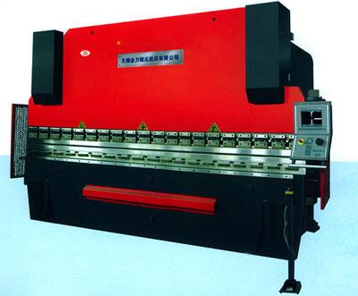 公司专业生产液压板料折弯机图片