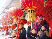 元旦市场红红火火 全国春节消费开始预热(图)