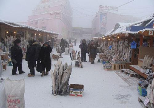 地球上最冷的城市雅库茨克