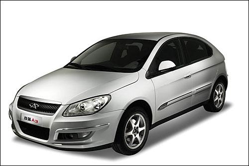 奇瑞a3竞争力加强 两厢车型1月6日上市