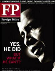 美国《外交》杂志最新一期封面