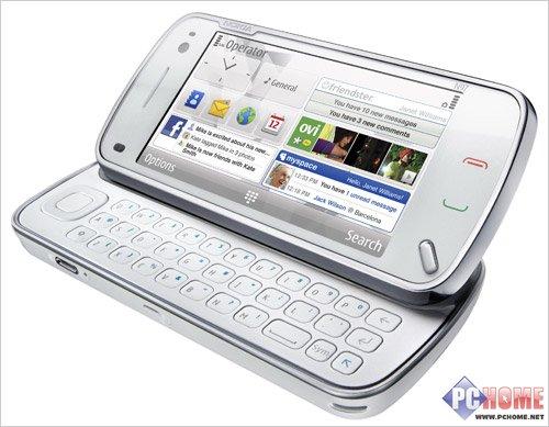 点击查看本文图片 诺基亚 N97 - N97对决TouchHD 智能手机阵营PK导购
