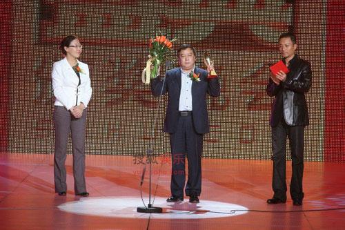 叶志平当选2008搜狐年度热点人物