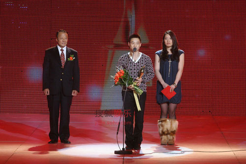 杨威当选2008年度体育人物