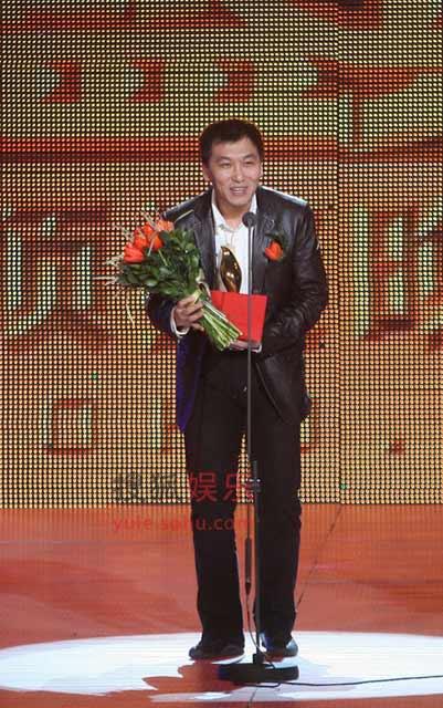 孙忠怀代替马化腾领取2008搜狐年度民营企业家