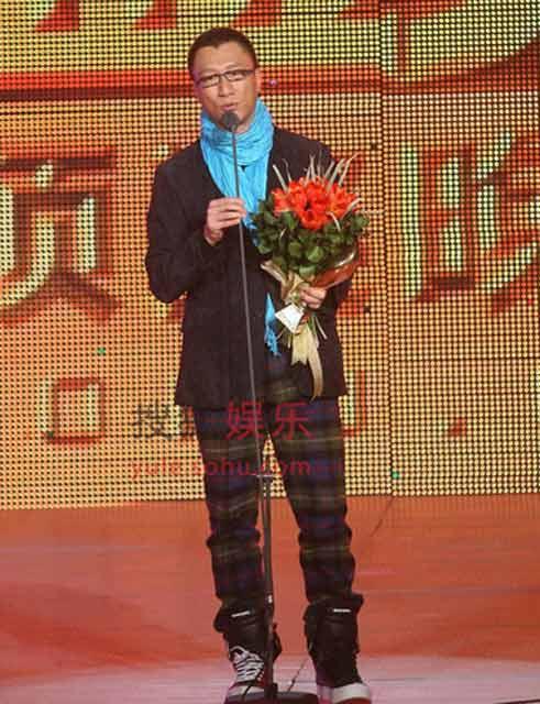 孙红雷当选2008搜狐年度娱乐人物之年度男明星