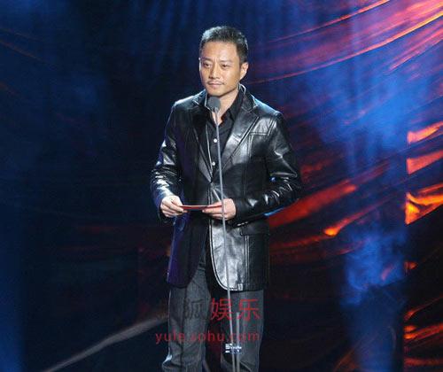 08搜狐年度热点人物开奖嘉宾张涵予上台