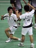 图文:马来西亚羽球赛决赛 韩国组合夺冠