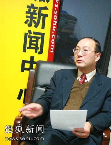 人民大学国际关系学院副院长金灿荣。